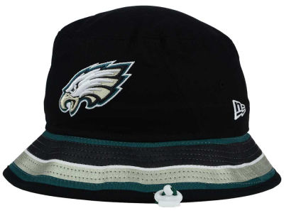 Philadelphia Eagles New Era NFL Team Stripe Bucket
