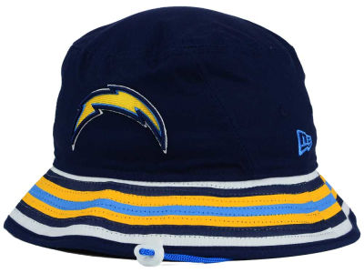San Diego Chargers New Era NFL Team Stripe Bucket