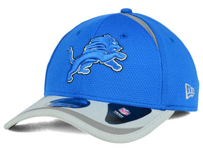Detroit Lions New Era NFL Reflective 2 Tone 39THIRTY Cap