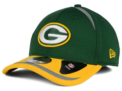 Green Bay Packers New Era NFL Reflective 2 Tone 39THIRTY Cap