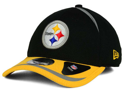 Pittsburgh Steelers New Era NFL Reflective 2 Tone 39THIRTY Cap