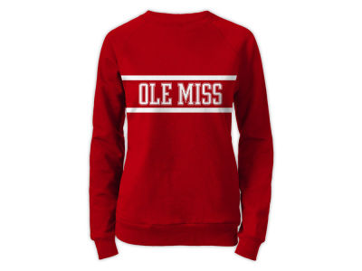 Ole Miss Rebels NCAA Women's Phys. Ed Secret Crew Sweatshirt