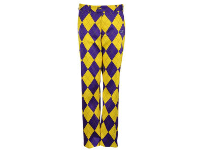 LSU Tigers NCAA Men's Loud Mouth Golf Pants