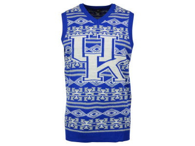 Kentucky Wildcats La Tilda NCAA Men's Ugly Sweater Vest
