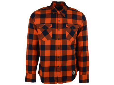 Chicago Bears NFL Plaid Barstow Western Top