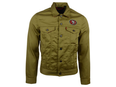 San Francisco 49ers Levi's NFL Trucker Jacket