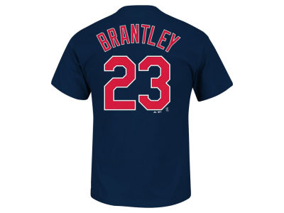 Cleveland Indians Michael Brantley Majestic MLB Men's Official Player T-Shirt