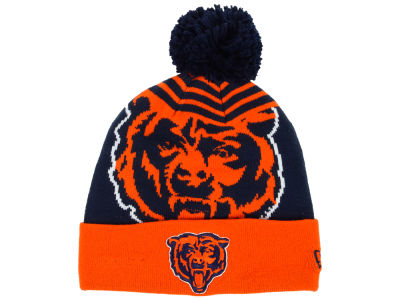 Chicago Bears New Era NFL Logo Whiz Knit