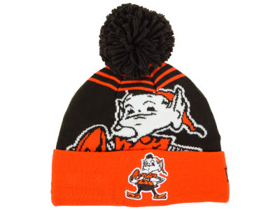 Cleveland Browns New Era NFL Logo Whiz Knit