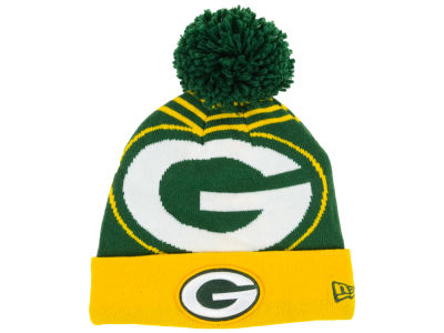 Green Bay Packers New Era NFL Logo Whiz Knit