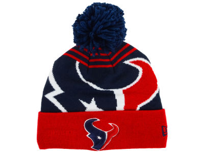 Houston Texans New Era NFL Logo Whiz Knit