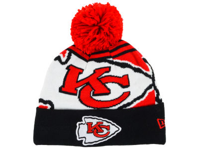 Kansas City Chiefs New Era NFL Logo Whiz Knit