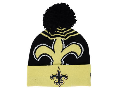 New Orleans Saints New Era NFL Logo Whiz Knit