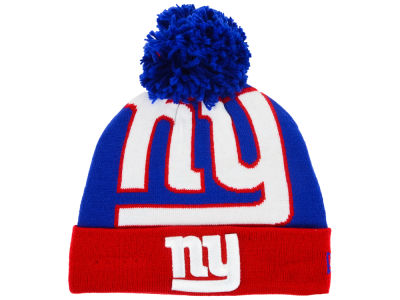 New York Giants New Era NFL Logo Whiz Knit