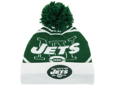 New York Jets New Era NFL Logo Whiz Knit