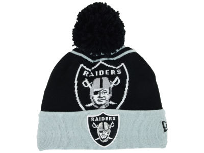 Oakland Raiders New Era NFL Logo Whiz Knit