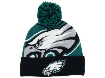 Philadelphia Eagles New Era NFL Logo Whiz Knit