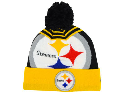 Pittsburgh Steelers New Era NFL Logo Whiz Knit