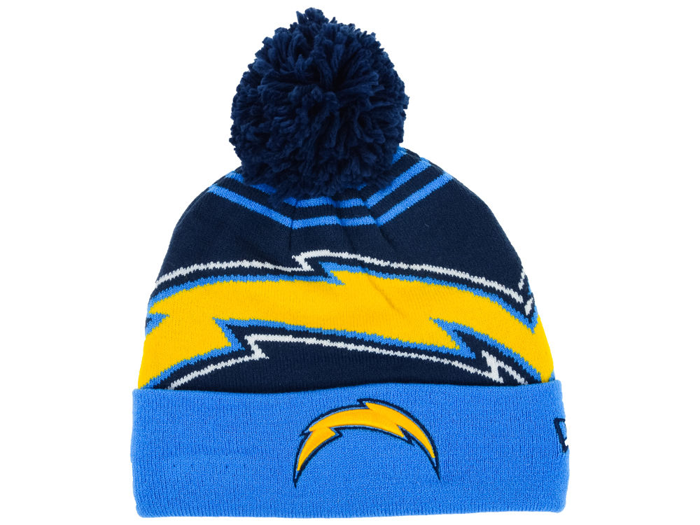 acfa140bd5b where to buy los angeles chargers new era nfl logo whiz knit 96cd2 0630a