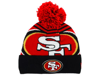 San Francisco 49ers New Era NFL Logo Whiz Knit