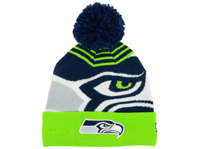 Seattle Seahawks New Era NFL Logo Whiz Knit