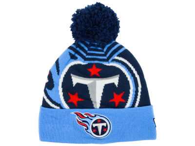 Tennessee Titans New Era NFL Logo Whiz Knit