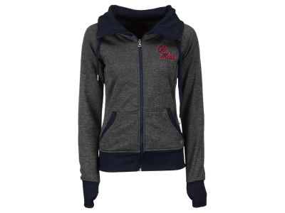 Ole Miss Rebels NCAA Women's Cowl Neck Full Zip Jacket