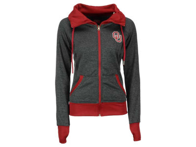 Oklahoma Sooners NCAA Women's Cowl Neck Full Zip Jacket