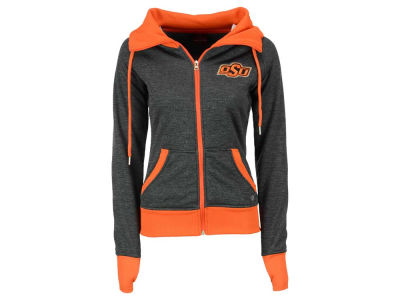 Oklahoma State Cowboys NCAA Women's Cowl Neck Full Zip Jacket