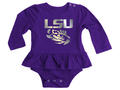 LSU Tigers NCAA Infant Stargazer Long Sleeve Creeper