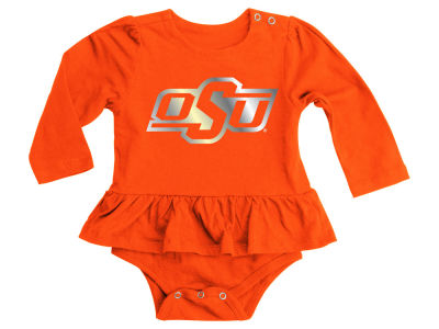 Oklahoma State Cowboys NCAA Infant Stargazer Long Sleeve Creeper