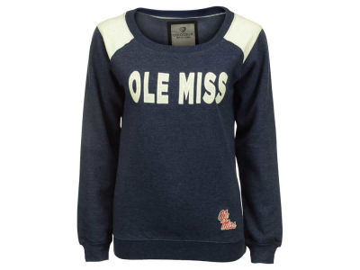 Ole Miss Rebels NCAA Women's Tempest Boatneck Fleece Sweatshirt