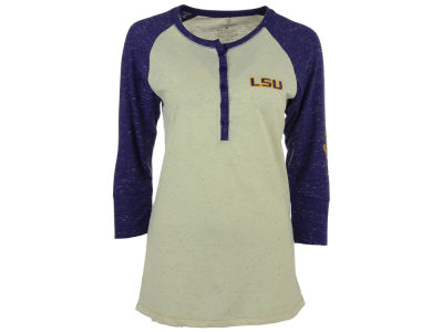 LSU Tigers NCAA Women's Chevelle Henley T-Shirt
