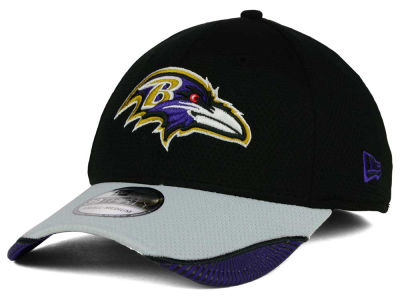 Baltimore Ravens New Era NFL Visor Hash 39THIRTY Cap
