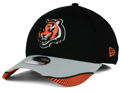 Cincinnati Bengals New Era NFL Visor Hash 39THIRTY Cap