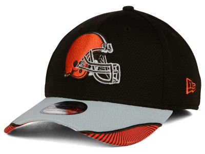 Cleveland Browns New Era NFL Visor Hash 39THIRTY Cap
