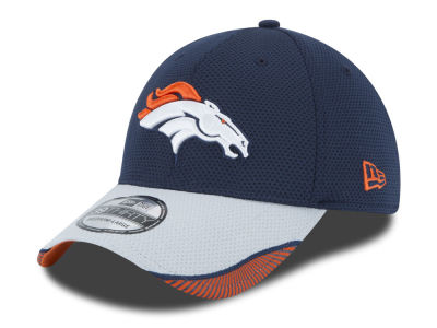 Denver Broncos New Era NFL Visor Hash 39THIRTY Cap