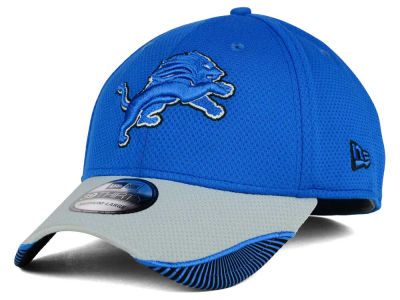 Detroit Lions New Era NFL Visor Hash 39THIRTY Cap