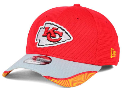 Kansas City Chiefs New Era NFL Visor Hash 39THIRTY Cap