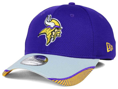 Minnesota Vikings New Era NFL Visor Hash 39THIRTY Cap