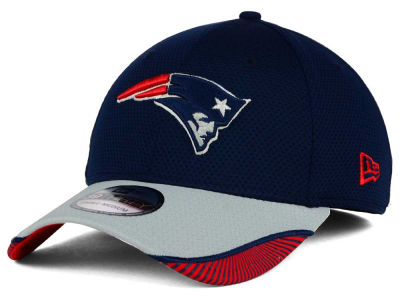 New England Patriots New Era NFL Visor Hash 39THIRTY Cap