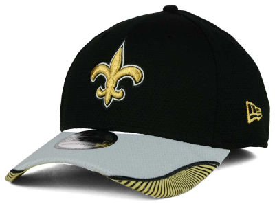 New Orleans Saints New Era NFL Visor Hash 39THIRTY Cap