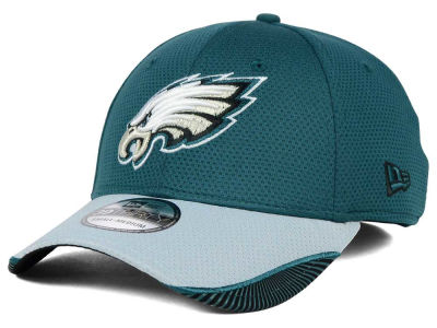 Philadelphia Eagles New Era NFL Visor Hash 39THIRTY Cap