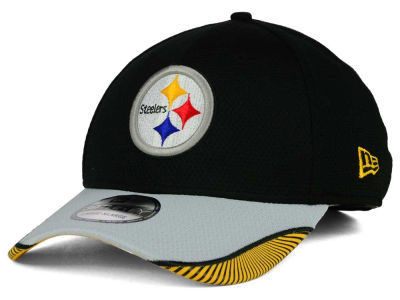 Pittsburgh Steelers New Era NFL Visor Hash 39THIRTY Cap