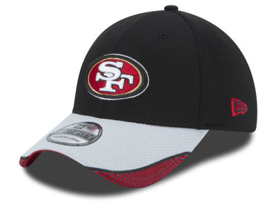 San Francisco 49ers New Era NFL Visor Hash 39THIRTY Cap