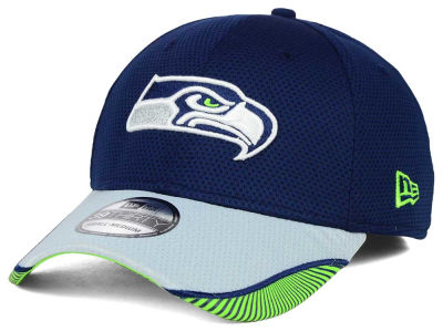 Seattle Seahawks New Era NFL Visor Hash 39THIRTY Cap