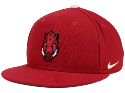 Arkansas Razorbacks Nike NCAA True Hardwood Seasonal Cap