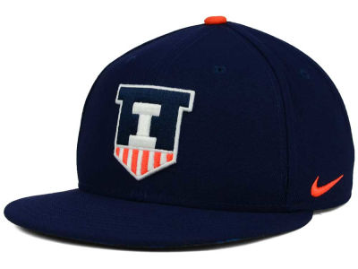 Illinois Fighting Illini Nike NCAA True Hardwood Seasonal Cap