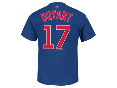 Chicago Cubs Kris Bryant Majestic MLB Men's Official Player T-Shirt