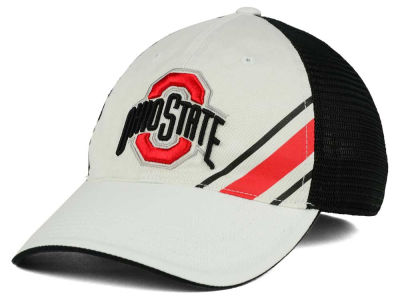 Ohio State Buckeyes J America NCAA Hot Route Slash Mesh Hat